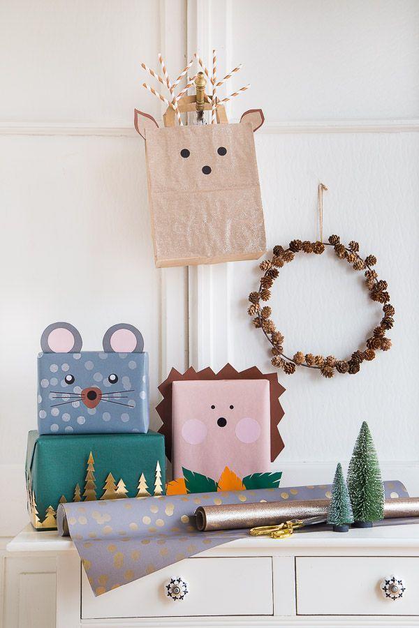 Weihnachtsgeschenke kreativ verpacken – so geht's! #weihnachten #geschenke #verp