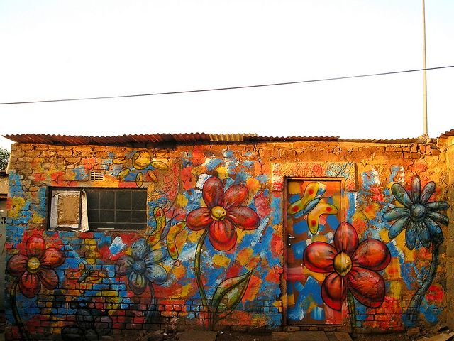 61 Best Street Art Flowers Images On Pinterest Street