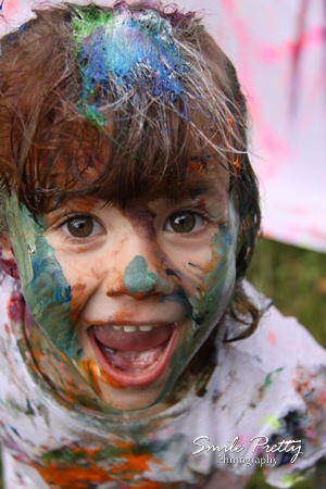 One of our Messy Paint Fight Photoshoots :) So much fun