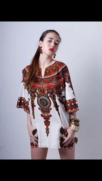 dress native american top prom dress ethnic print boho boho