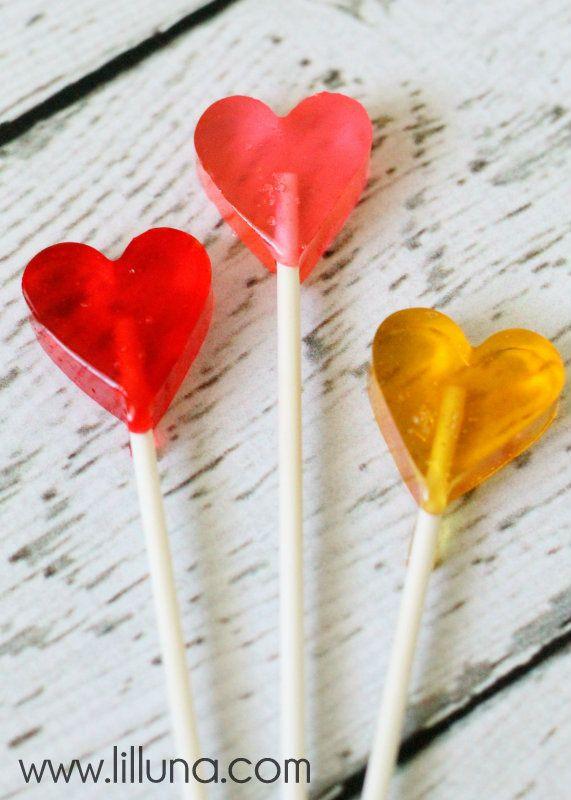 Adorable Homemade Valentines Suckers