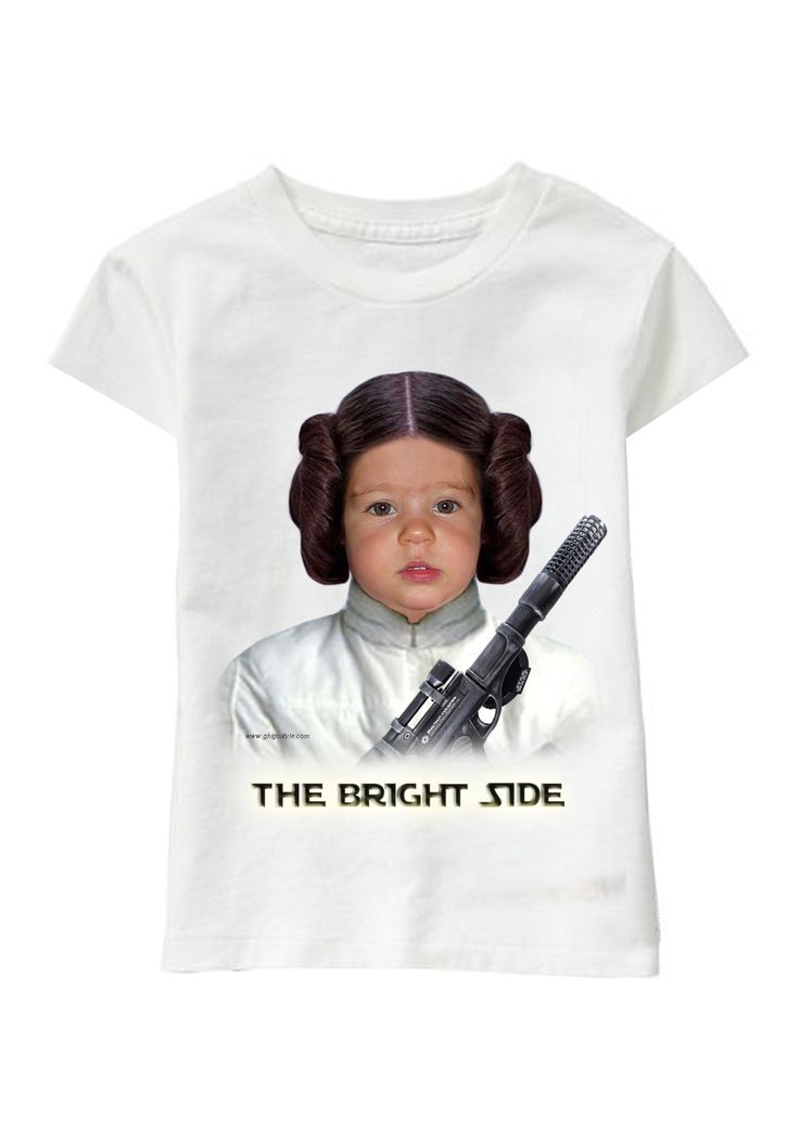 The Bright Side personalized T-shirt www.ghigostyle.com
