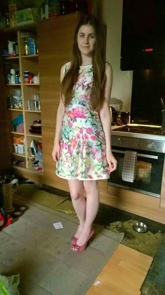 Latest dress #silky #summer #homemade #floral #hawaiian