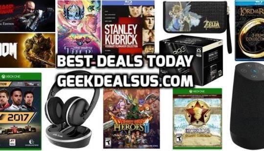 Best Deals Today: Doom & Shadow Warrior for FREE, Dragon Quest Heroes 2 & more: Dragon Quest Heroes II Explorers Edition for $35.56 (-41%)…