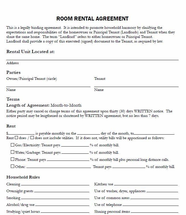 10 best Rental Agreements images on Pinterest Rental property - room rental agreements