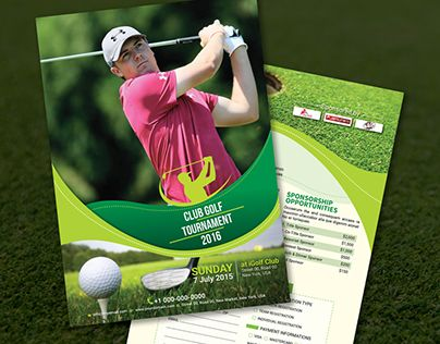 24 best Golf Tournament images on Pinterest Golf outing, Flyer - golf tournament flyer template