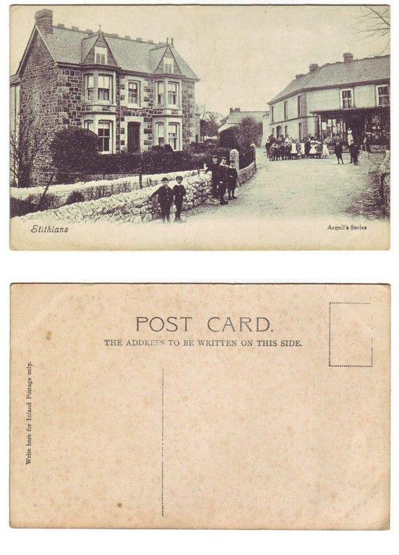 Stithians, Cornwall - Argall's - c.1905-10 - Postcard