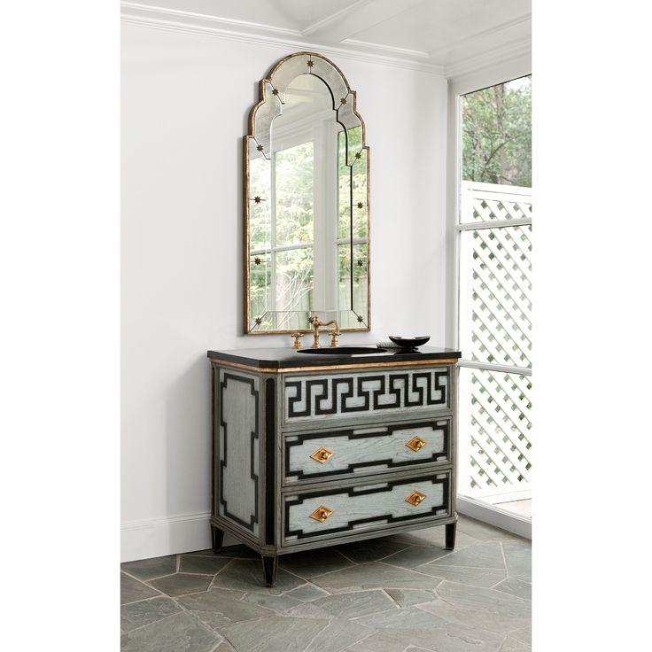 Lovely COMO SINK CHEST   Ambella Home #Sinkchests #Bathroom #Vanity