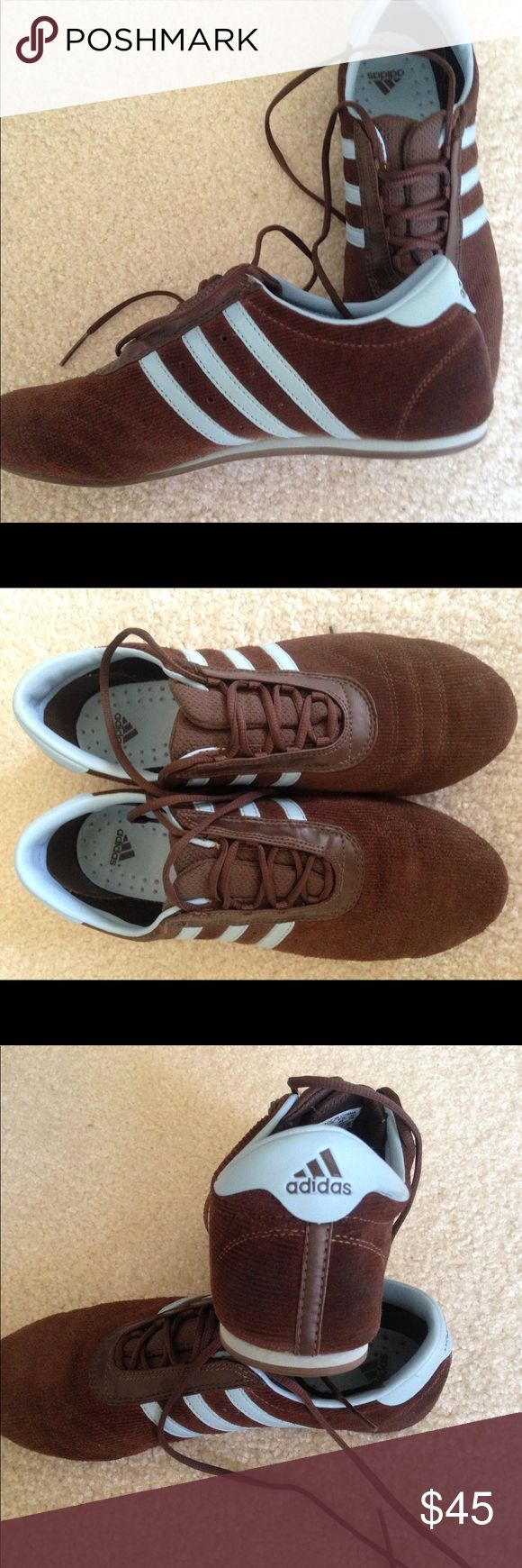 Vintage Addidas sneakers Vintage Adidas suede and leather sneakers EUC..offers considered. Bundle and save more Shoes