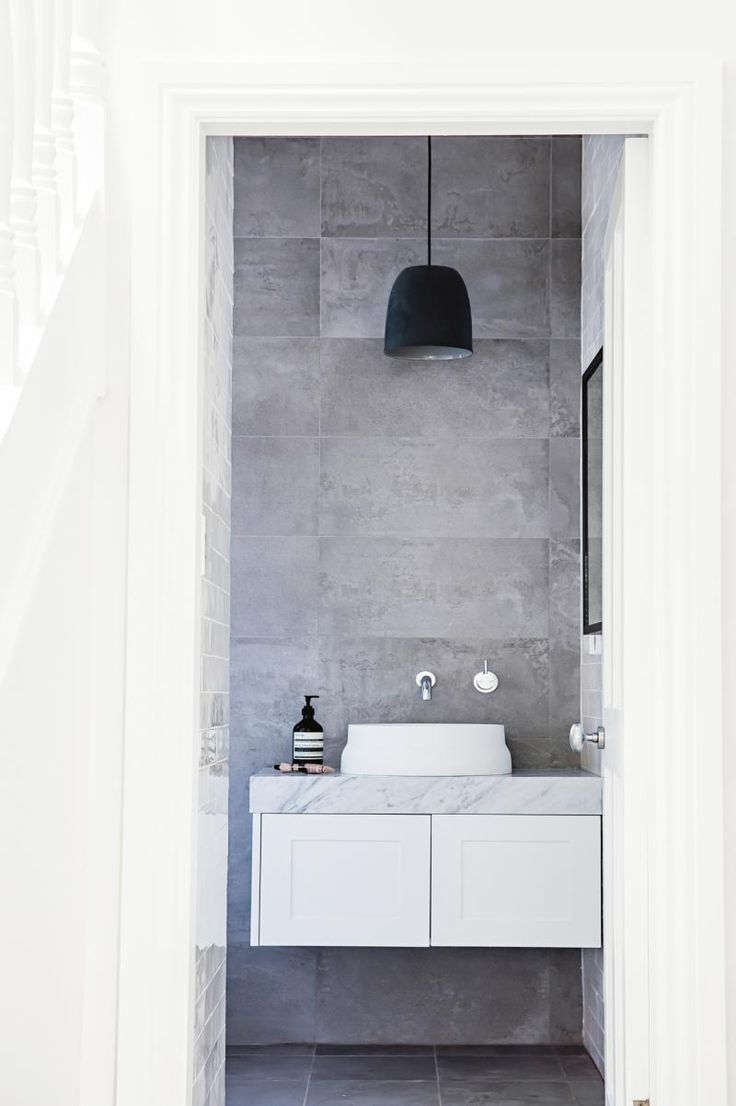federation-house-grey-bathroom - on inside out website