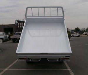 Isuzu D-Max Tipper Kit | Aluminium Auto Accessories | G.D. Gitsham Pty Ltd