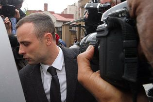 New York Times: April 15, 2014 - Chraged with murder, Olympian Oscar Pistorius continues to be hammered under cross-examination