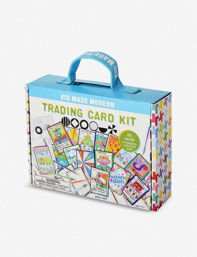 Kid Made Modern Trading Card Kit Sponsored Ad Modern Kid Trading Card Kit Trading Cards Toys For Girls