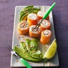 Bouchées de saumon aux herbes Découvrir la recette des bouchées de saumon aux herbes