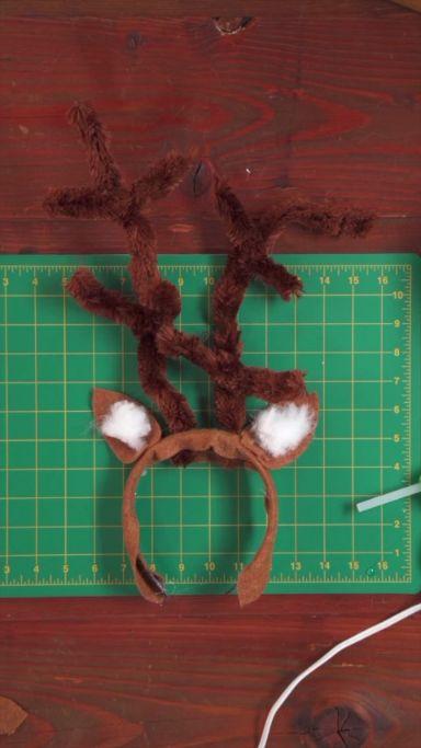 DIY Reindeer Ears