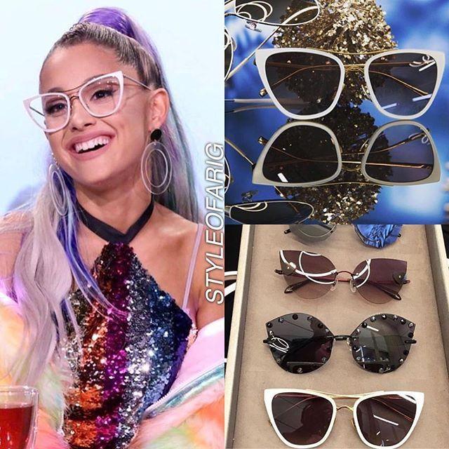 cbee64f33f9 Wearing  loreerodkin x  samaeyewear glasses (not available online) Thank  you  fergiefashion! -  arianagrande arianator arianastyle   loreerodkineyecouture by ...