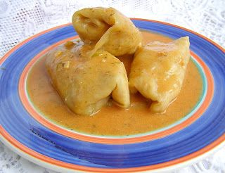 W Mojej Kuchni Lubię.. : gołąbki z płatkami owsianymi z szybkowara z sosem ...