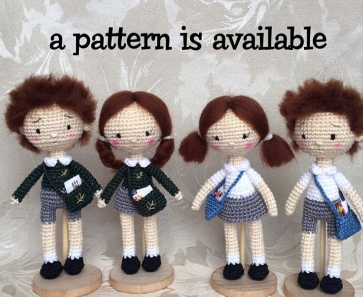 Amigurumi Boy Doll Pattern : 471 best crochet dolls images on pinterest amigurumi doll crochet