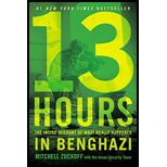 13 Hours: The Secret Soldiers of Benghazi by Mitchell Zuckoff // Nominated for Sound Mixing  #13hours #mitchellzuckoff #readthebookfirst #thebookisbetter #readingrecommendations #books #TBR #OTL #goodreads #whattoread #film #movies #oscars #academyawards #andthewinneris #readcarpet