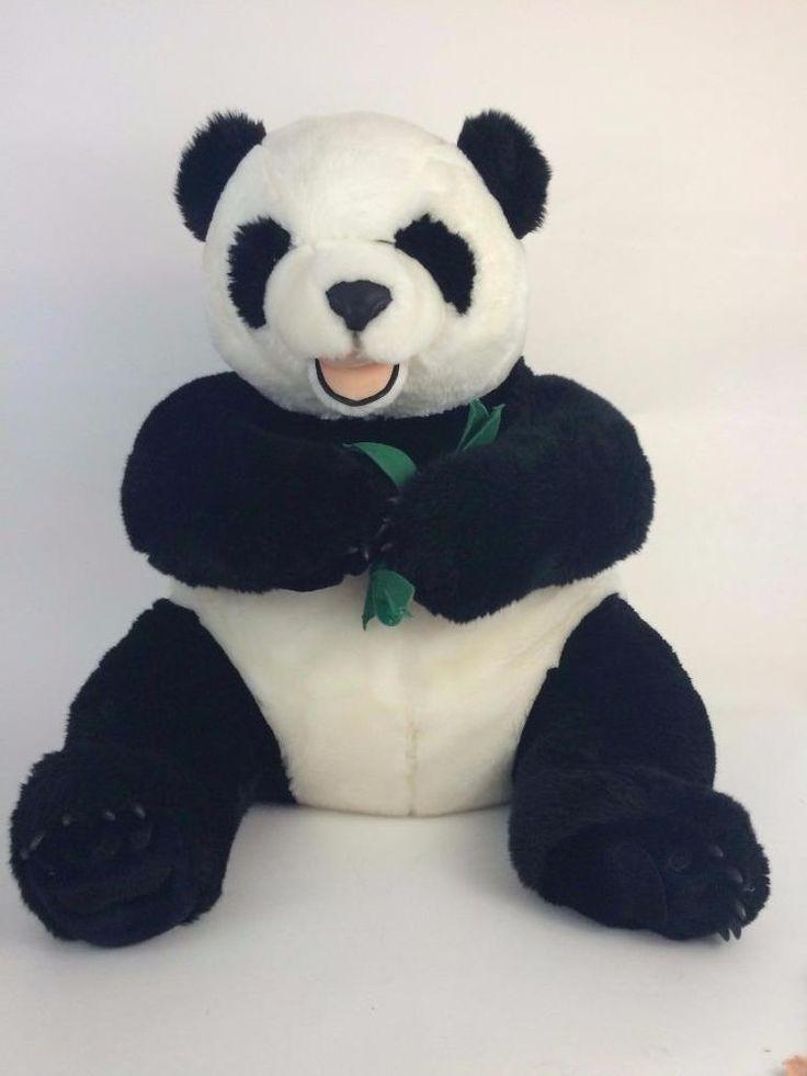 Fao Schwarz Huge Panda Teddy Bear Jumbo 29 Quot Bamboo Exc
