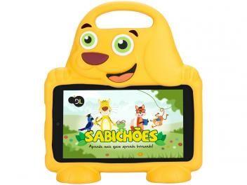 """Tablet DL Drop Kids Plus 8GB 7"""" Wi-Fi Android - Proc. Quad Core Câmera Integrada"""
