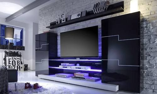 beleuchtetes fernsehregal coole m bel pinterest posts and tvs