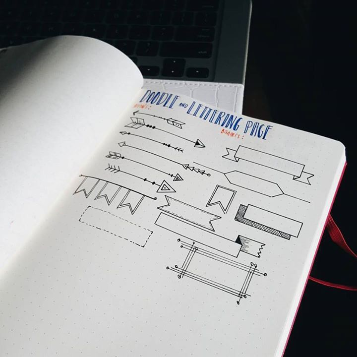 Title page doodles