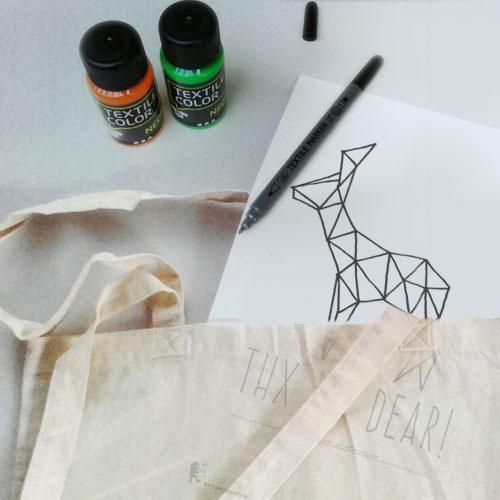 KADO pakket- DIY katoenen zak pimpen | Het allerleukste feestje thuis!