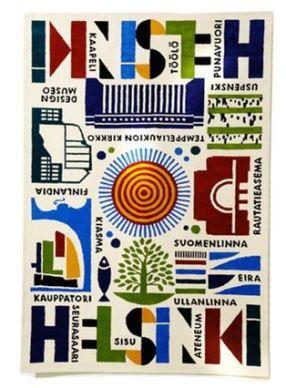 Helsinki Carpet by Maria Dahlgren