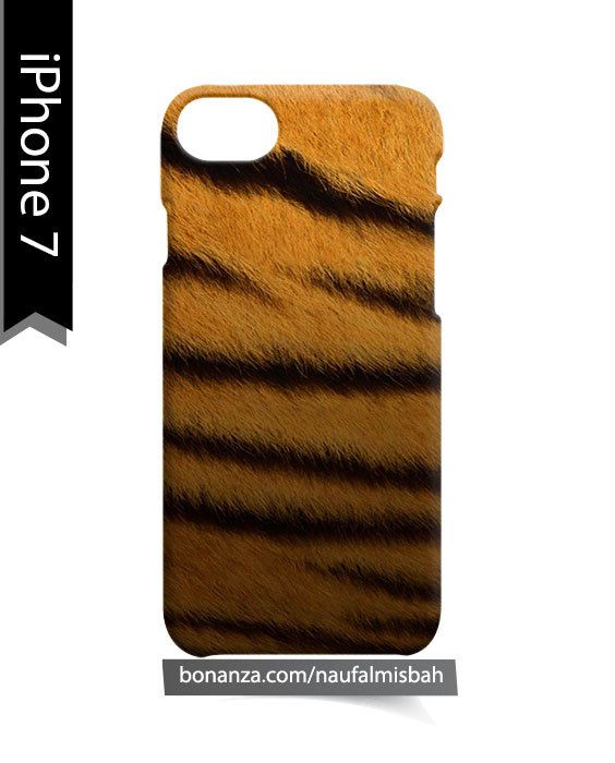 Tiger Fur Pattern iPhone 7 Case Cover Wrap Around