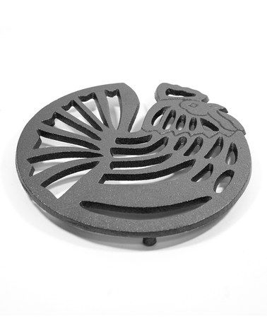 Take a look at this Rooster Cast Iron Trivet by Old Mountain on #zulily today!