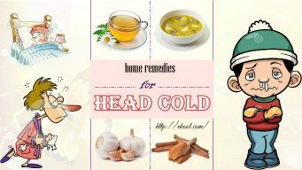 Looking for home remedies for head cold? Here are top 10 best solutions to deal with a head cold condition by natural remedies.