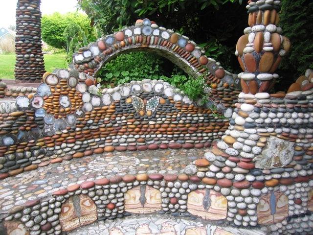 130 best pebble mosaics images on Pinterest