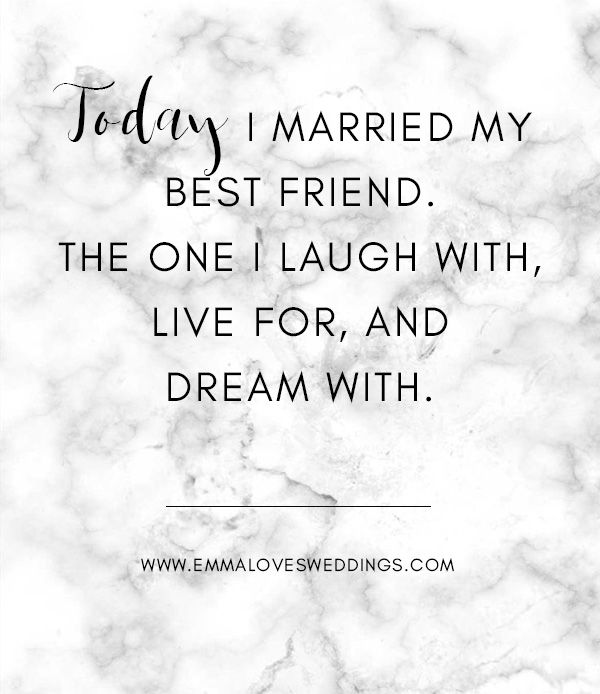15 Short And Sweet Wedding Quotes For Your Big Day Emmalovesweddings Love Quotes And Saying Wedding Day Quotes Newlywed Quotes