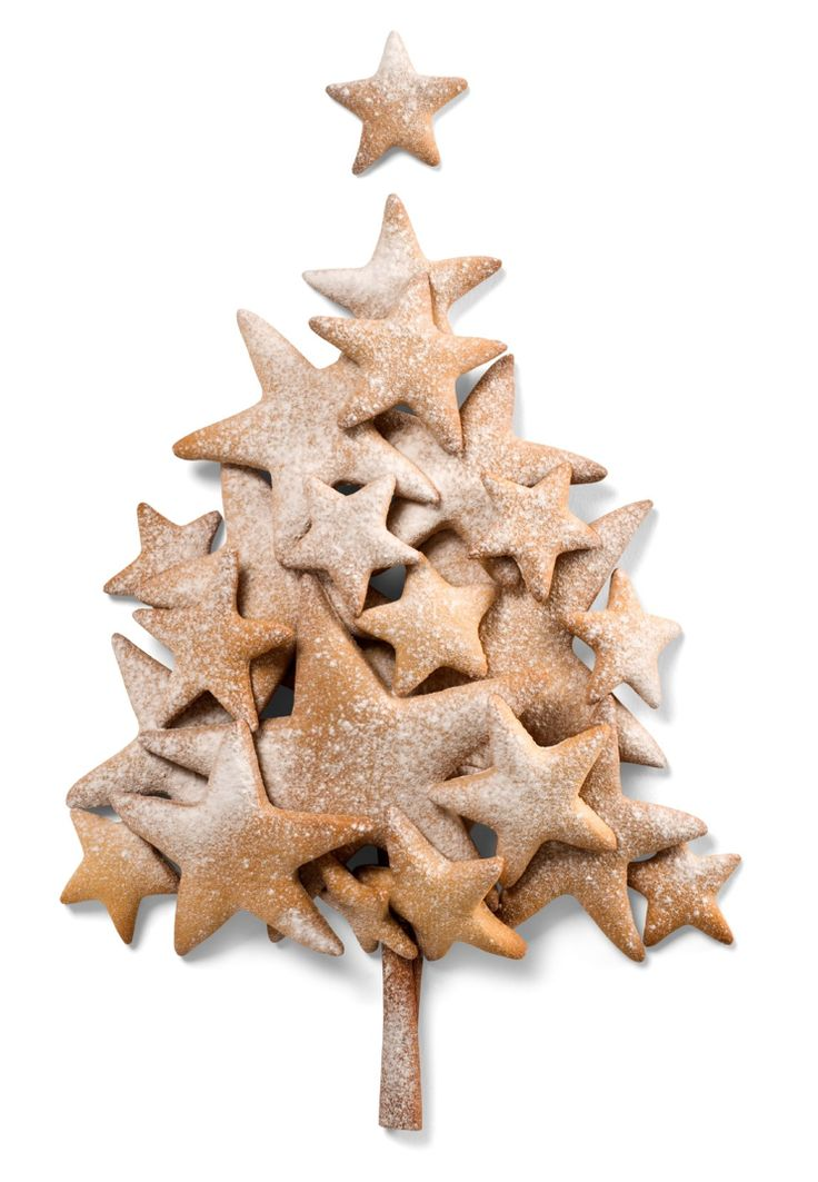 Cookie tree.  What a simple idea for a maxed decorative effect