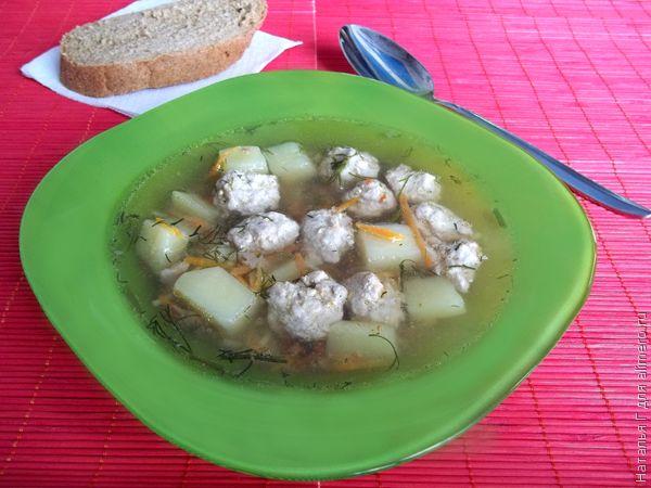 Суп с мясными фрикадельками, рецепты с фото | Супы и Рецепты