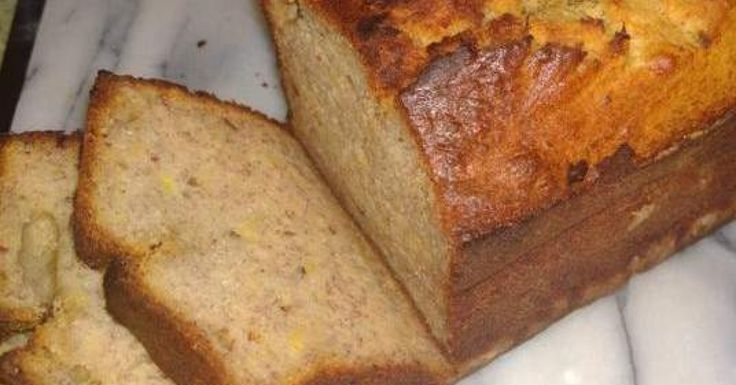 Maple, date and banana bread