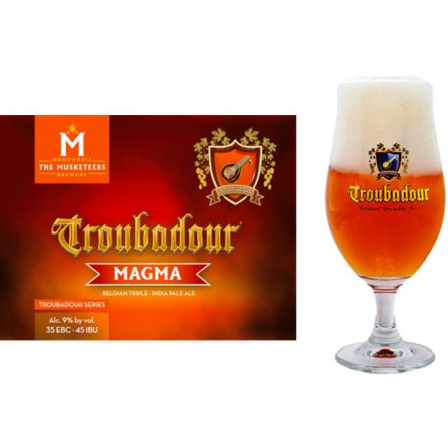 Troubadour Magma | Brouwerij The Musketeers