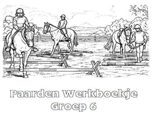 Paarden Werkboekje Groep 6