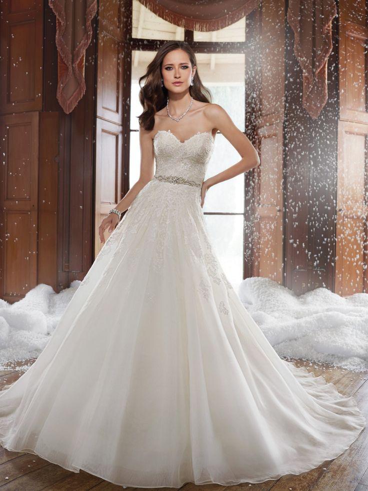 Vestido de noiva tomara que caia Bead Waist Wedding Dress Strapless Organza vestido de casamento