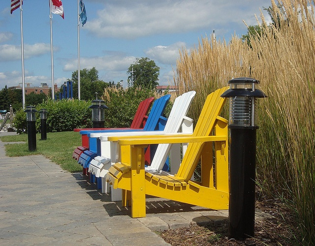 #Adirondack Chairs by Hear and Their, via Flickr