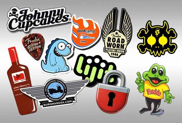 Sticker printing can inexpensively make your promotion stand out in cut throat market competition order printed stickers online economically at