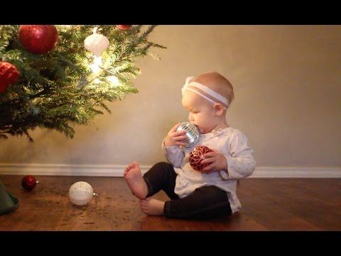 These New Parents Put Up a Christmas Tree. Wait Until You See What the Baby Does!