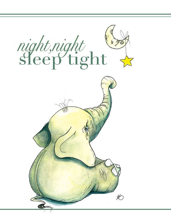 Night Night Sleep Tight by bighugcreations on Etsy