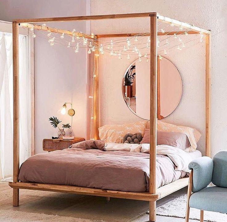 Mejores 8 imágenes de 4 post bed ideas en Pinterest | Muebles de ...