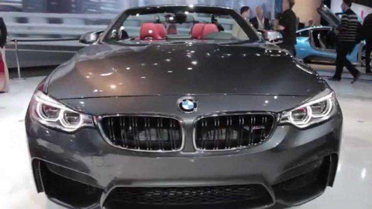 BMW M4 2015, Convertible, Exterior e interior, Video HD