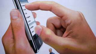 """Image copyright                  Justin Sullivan/Getty Images                  Image caption                                      Los """"spammers"""" utilizan el sistema iCloud de Apple para enviar correos basura.                                Cada vez son más los usuarios de Apple que dicen haber recibido estos días correo basura en su teléfono con ofe"""