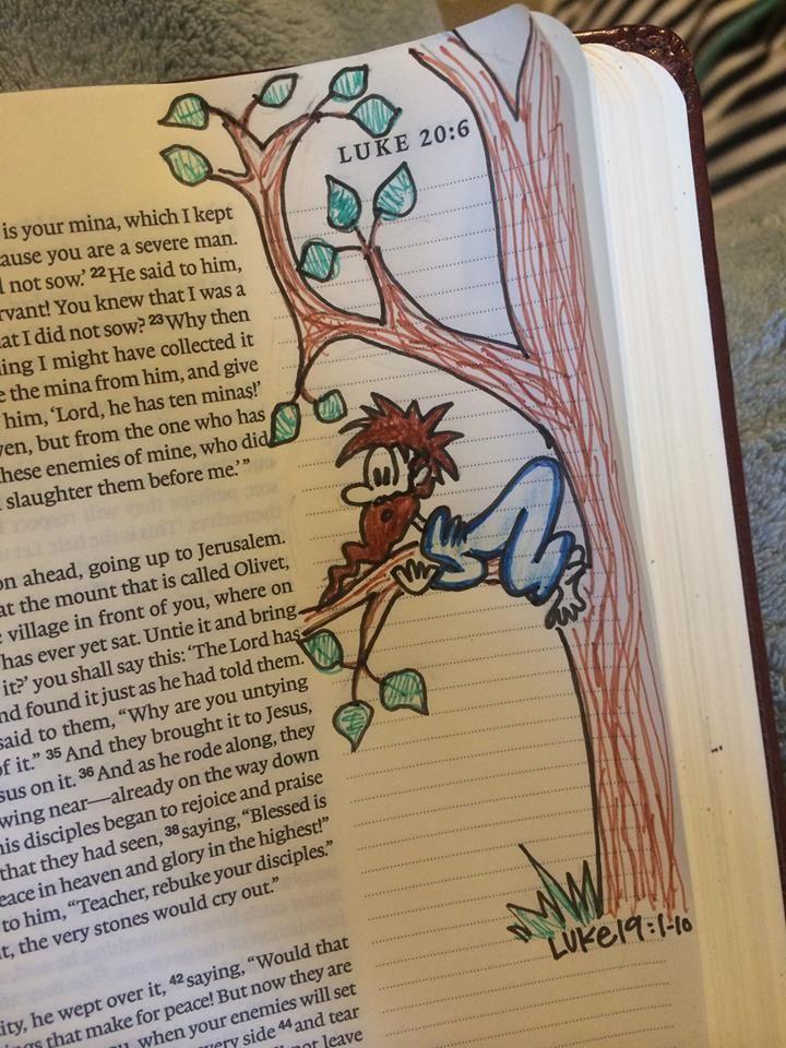 MS woman's Bible illustrations go viral - FOX Carolina 21