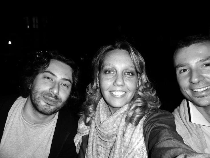 Friends in Milan...