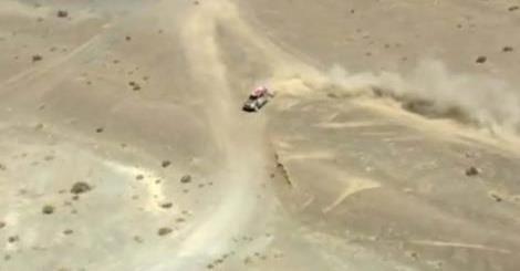 La odisea de Orly Terranova en el desierto: llegó a las 2 AM El argentino se despidió de la pelea por el título, pero seguirá en el Dakar 2015.  http://tn.com.ar/deportes/esencial/la-odisea-de-orly-terranova-en-el-desierto-llego-a-las-2-am_560847